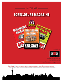 foreclosure magazine advertising